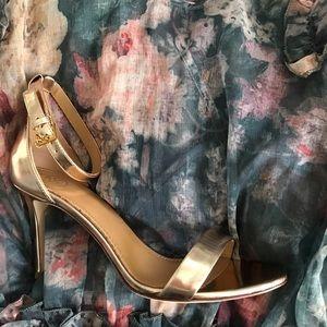 Tory Burch Rose Gold Heels